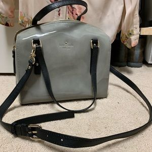 Kate Spade Patent Leather Small Duffle Style bag